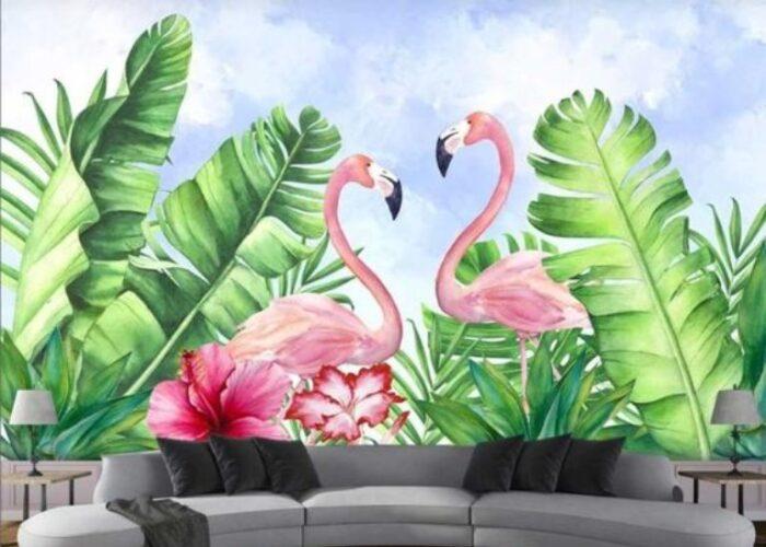 Vẽ tranh tường tại Điện Biên
